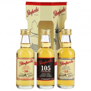Glenfarclas Miniset 105, 10 Years Old & 12 Years Old (15CL)