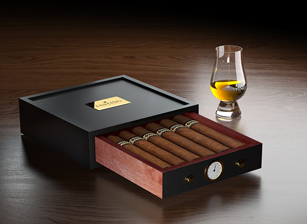 The Whisky Cabinet Humidor