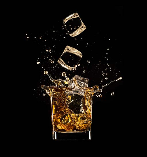 Whisky, water of ijs?