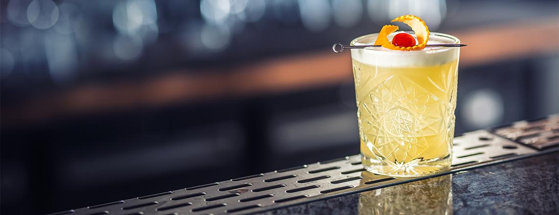 Whisky Sour Cocktail Recept