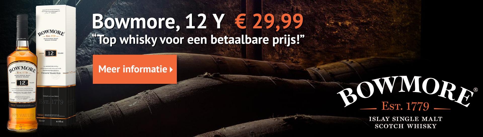 Whisky.nl Bowmore 12Y